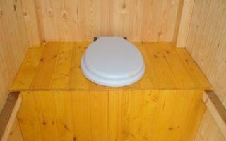Как сделать дачный туалет без выгребной ямы