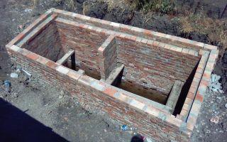 Как сделать сливную яму в частном доме: строим своими руками