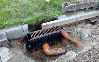 Пескоуловитель для ливневой канализации: монтаж и устройство