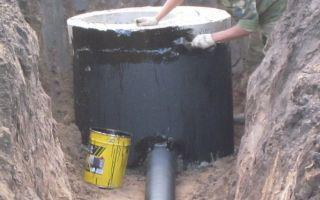 Герметизация и гидроизоляция канализационных колодцев