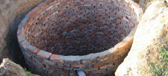 Выгребная яма из кирпича своими руками. Секреты строительства