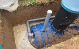 Канализация при высоком уровне грунтовых вод