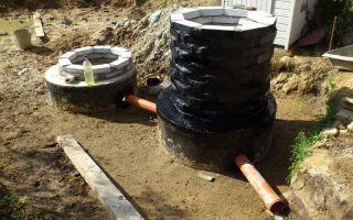 Как осуществить гидроизоляцию септика из бетонных колец