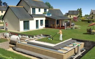 Схема канализации в частном доме — устройство и глубина прокладки