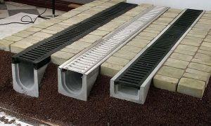 Системы поверхностного водоотвода: преимущества и принцип работы