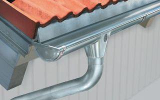 Как выбрать и установить водосточную систему для крыши