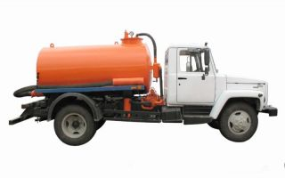 Машина для откачки канализации – разновидности, какую работу выполняет