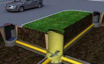 Какое расстояние от водопровода до канализации должно быть указано в проекте