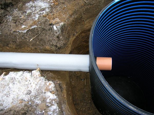 Утепление труб канализации