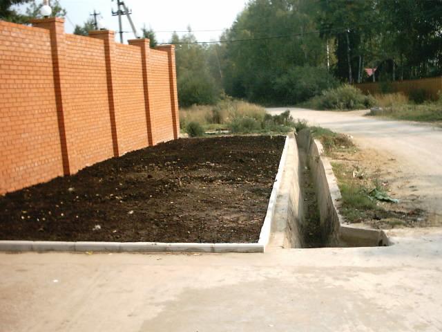 Водоотводная канава вдоль дороги это